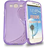 Accessory Master Housse en gel silicone pour Samsung Galaxy S3 Violet