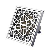 Floor drain Bodenabfluss- Bodenablauf Küche Dusche Kupfer Rückfluss Wasserleck WC Waschmaschine Bad Zubehör Welcome