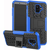 Samsung Galaxy A6 2018 Handy Tasche, FoneExpert Hülle Abdeckung Cover schutzhülle Tough Strong Rugged Shock Proof Heavy Duty Case Für Samsung Galaxy A6 2018