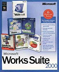 Microsoft Works 2000 Suite