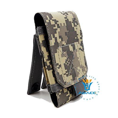 Multifunzione sopravvivenza Gear Pouch Tattico Molle Pouch fondina, campeggio portatile Pouch Bag Borse Marsupio strumento Pouch Custodia da viaggio Custodia, OD ACU