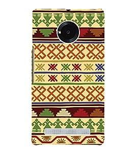 Tribal Cross Art Pattern 3D Hard Polycarbonate Designer Back Case Cover for YU Yunique