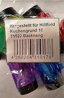 12 x Schlüsselanhänger Taschenlampe Lampe 4 cm , hillfield®