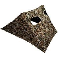 STUBBLE Grassland LAID BACK Ground Hide Camo Leafy Pop Up Quick Set