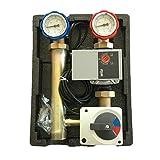 Pumpengruppe m. 3 Wege Mischer Stellmotor Hocheffizienzpumpe WILO YONOS PARA 25/6, 130mm, Anbindesystem DN25 Heizkreisset Heizkreispumpengruppe