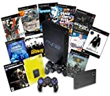 PS2 Console & 11 Game Bundle with Controller & 8MB Memory Card & Network Adaptor