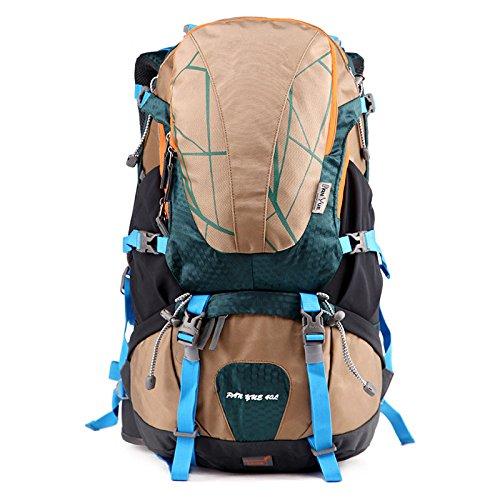 Wujipeng zaino da trekking per uomo e donna leggero 36-55l zaino da montagna tattico da alpinismo tempo libero sportivo e impermeabile,a