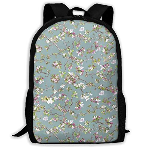Apple Blossom On Blue 98b2b3_1165 Klassischer Rucksack Reisen Laptop Rucksack, College School Student Rucksack für Männer und Frauen -