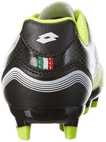 Lotto Spider 700 Xiii Fgt Jr, Chaussures de Football Mixte Bébé Jaune (Ylw Saf/Blk)