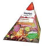tetesept Blubbersalt Vulkanland – badmössa för barn med doft av söta frukter och extra mycket Blubberspa – 1 x 50 g