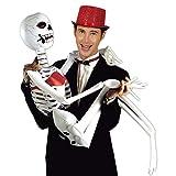 German Trendseller® - squelette gonflable┃ décoration halloween┃185 cm┃créature┃os