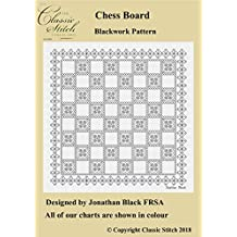 Chessboard Blackwork Pattern