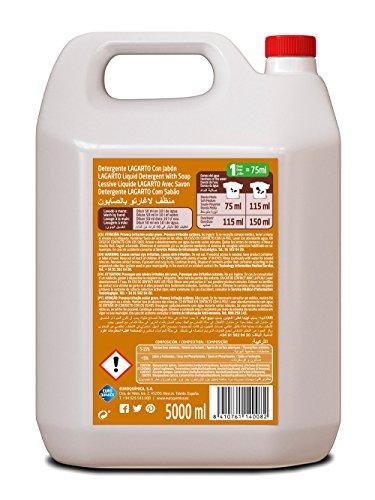 Lagarto Detergente Liquido Lavadora Profesional 5000 ml