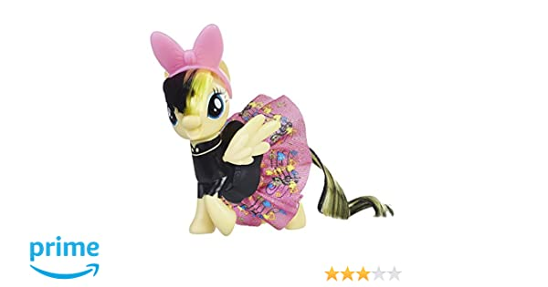 My Little Pony E0690EL2 the Movie Sparkling and Spinning Skirt Songbird Serenade