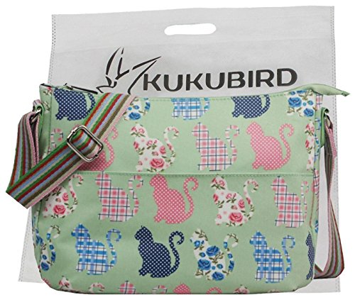 Kukubird Vari Cani Modello & Rainbow Cinghia A Tracolla Con Kukubird Sacchetto Di Polvere Pink