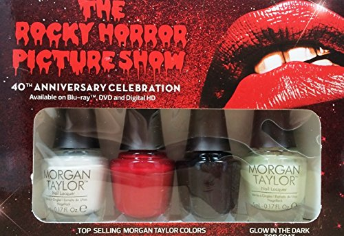 acquer Rocky Horror Picture Show Minis by Morgan Taylor Nail Lacquer (Rocky Horror Make Up)