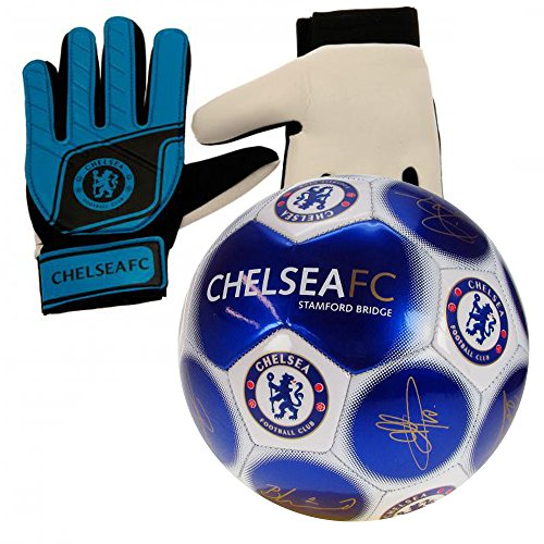 Chelsea Fc Size 5 Signature Football And Goalkeeper Gloves Combo Buy Online In Guernsey At Desertcart Productid 60714558
