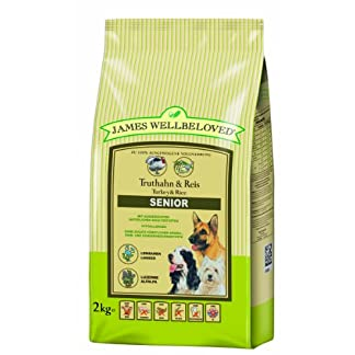James Wellbeloved Complete Dry Senior Dog Food Turkey and Rice, 2 kg 10