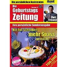 Uwe Freund - Geburtstagszeitung Version 9