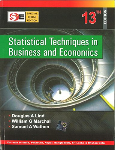 Statistical Techniques in Business and Economics with Student Cd (SIE)