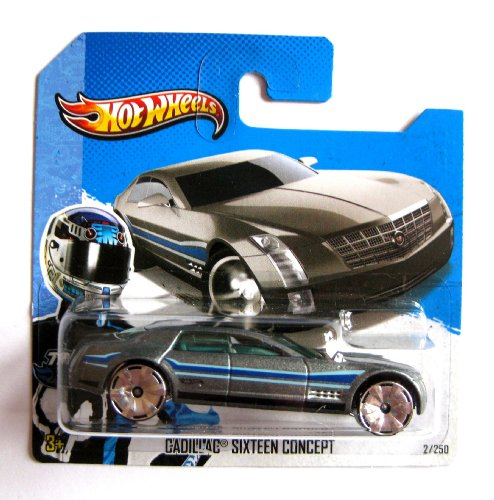 Hot Wheels Cadillac Sixteen Concept graumetallic 1:64