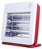 Orpat OQH-1280 800-Watt Quartz Heater (Red)