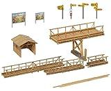 Faller - Decoración para modelismo ferroviario H0 escala 1:87