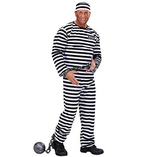 Imagen de widman  disfraz de preso para hombre, talla m 39092  alternativa