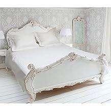 Eden 635010Eden–Juego de funda nórdica de poliéster algodón, 220x 240cm), color blanco