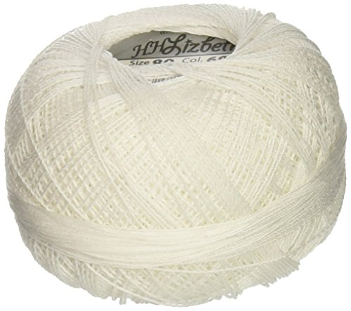 Price comparison product image Handy Hands Lizbeth Cordonnet Cotton Size 80-White