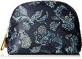 Oilily Damen Vivid Cosmeticpouch Lhz 2 Clutch, Blau (Dark Blue) 9x19x27 cm