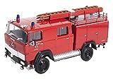 Magirus-Deutz 100 D 7 FA LF8-TS Feuerwehr Nellingen 1/43 Yatming Modell Auto