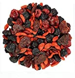 Dry Fruit Hub Berries Mix, 400gms Mixed Berries High in Anti-Oxidants, (Dried Cranberries, Blueberries, Strawberries, Gojiberries), Dehydrated Fruits, Dried Berries, Berries Combo Pack