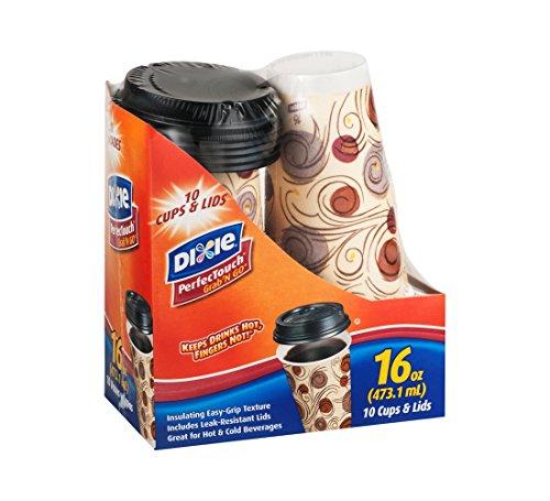 Dixie PerfecTouch Grab 'N Go 16Oz Tasse, buy Pack - Georgia Pacific Dixie Food-service