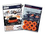 AAA-Shocks (Original Analogstick Aim Assistance Stossdämpfer Zielhilfe für Shooter Games): Flexx Edition - 'Uggly Orange Infantry' für Xbox One