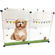 Recinto para perros pequeños y cachorros / recintos para animales