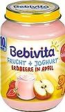 Bebivita Frucht & Joghurt Erdbeere in Apfel (6 x 190g)