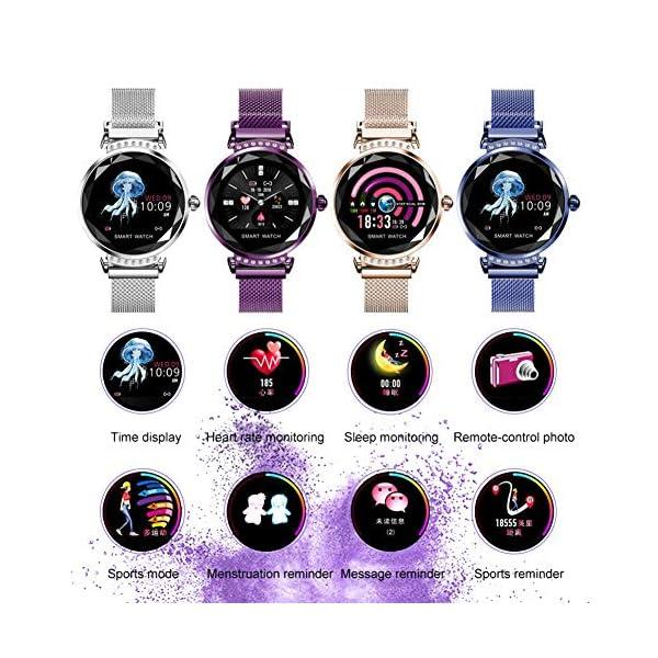 Smart Watch Heart Rate Monitor Fitness Tracker Watch Waterproof Smart Watch Bracelet for Women 7