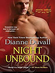 Night Unbound (Immortal Guardians) by Dianne Duvall (2014-09-02)