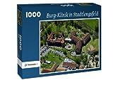 Burg-Klinik in Stadtlengsfeld - Puzzle 1000 Teile mit Bild von oben