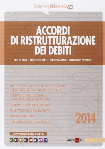 Accordi di ristrutturazione dei