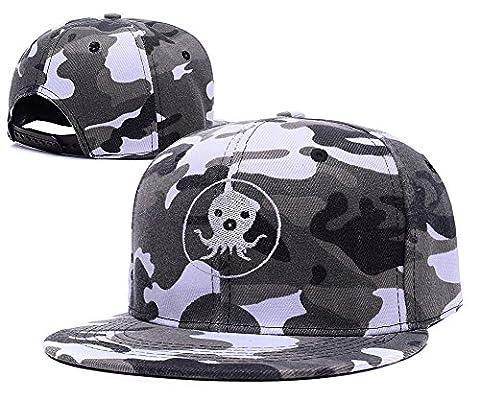 SIANDA The Octonauts Cartoon Logo Camo Cap Embroidery Camouflage Snapback Hat