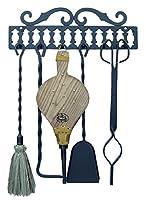 Imex El Zorro 10019 - Percha cuelga útiles con 5 utensilios (43 cm)