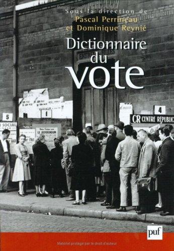 Dictionnaire du vote
