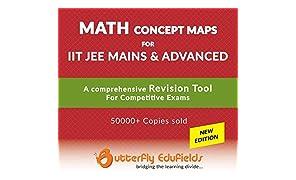 Butterfly Fields - Mathematics concept map book for IIT JEE MAIN & ADVANCED