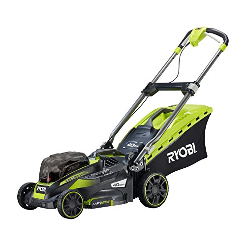 Ryobi RLM18X41H240 ONE+ 36V Fusion Cordless Lawnmower with 2 x 18V 4.0Ah batteries, 40cm Deck - Reviewed