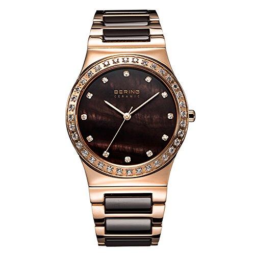 Bering Schmales, schwarzes Armband aus hochwertigem Silikon
