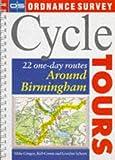 Os Cycle Tours: Around Birmingham (Ordnance Survey Cycle Tours)