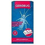 Gerobug 12 x Profi-Schabenfalle inkl. Bonus Ebook Zum Schaben bekämpfen