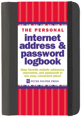 the-personal-internet-address-password-log-book-password-organizer